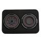 Kicker 48TCWRT672 CompRT Dual 6.75 2-Ohm Subwoofer Enclosure