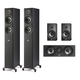 Polk Audio Reserve 5.0 Channel Compact Home Theater Speaker Package (Black)