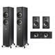Polk Audio Reserve 5.0 Channel Home Theater Speaker Package (Black)