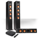 Klipsch Reference Premiere HD Wireless 3.0-Channel Floorstanding Speaker System with HD Control Center