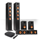 Klipsch Reference Premiere HD Wireless 5.0-Channel Floorstanding Speaker System with HD Control Center