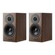 Dynaudio Evoke 10 Bookshelf Speakers - Pair (Walnut Wood)