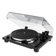 Thorens TD 201 Manual Two-Speed Turntable with Built-In Preamp (Black High Gloss)