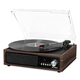 Victrola 3-in-1 Bluetooth Record Player with Built in Speakers and 3-Speed Turntable (Espresso)
