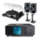 Thorens TD 201 Manual Two-Speed Turntable with Built-In Preamp Focal Chora 806 Bookshelf Speakers with Speaker Stands Naim Uniti Atom All-in-One