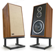 KLH Model Five 3-way 10-inch Acoustic Suspension Floorstanding Speakers - Pair (Walnut)