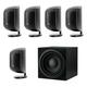 Bowers & Wilkins 5.1 Channel Satellite Speaker Package