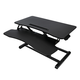 Royal Consumer Information Products, Inc SD320 Fully Adjustable Standing Desk with Keyboard Support