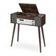 Victrola Jackson 7-in-1 Bluetooth Music Center (Espresso)