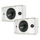 SpeakerCraft OE DT6 One Outdoor Elements Dual Tweeter Speaker - Pair (White)