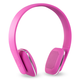 Victrola Innovative Technology Rechargeable Wireless Bluetooth Headphones - Pink