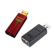 AudioQuest DragonFly Red v1.0 USB DAC with JitterBug USB Data and Power Noise Filter Package
