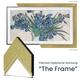 Deco TV Frames Customizable Frame for Samsung The Frame 2021 43 TV (Contemporary Gold)