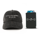World Wide Stereo Music Makes Us Happy Cap (Black) and Beverage Can Koozie