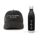 World Wide Stereo Music Makes Us Happy Cap (Black) and 17oz Water Bottle