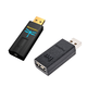 AudioQuest DragonFly Black v1.5 USB DAC and JitterBug USB Data and Power Noise Filter Package