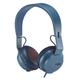 House of Marley Rebel Bluetooth On-Ear Headphones (Navy)
