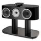 Bowers & Wilkins HTM82 D4 3-Way Center Channel Speaker (Gloss Black)