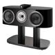 Bowers & Wilkins HTM81 D4 3-Way Center Channel Speaker (Gloss Black)