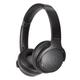 AudioTechnica ATH-S220BT Wireless On-Ear Headphones (Black)