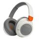 JBL JR460NC Wireless Over-Ear Noise Canceling Kids Headphones (White)