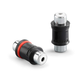 JL Audio XD-CLRAICB-2F Molded Audio Barrel Connectors