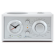 Tivoli Audio Model 3 AM/FM Radio With Bluetooth (White/Silver)