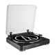 AudioTechnica AT-LP60BK-BT Fully Automatic Wireless Belt-Drive Stereo Turntable (Black)