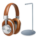 Master & Dynamic MW60 Wireless Over-Ear Headphones with Headphone Stand (Brown/Silver)