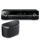 Yamaha RX-S601 Slimline AV Network Receiver with WX-030 MusicCast Wireless Speaker (Black)