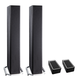Definitive Technology BP9040 High Power Bipolar Tower Speakers with Integrated 8