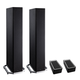 Definitive Technology BP9020 High Power Bipolar Tower Speakers with Integrated 8