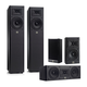 JBL Arena 170 Series 5.0 Channel Home Theater Speaker Package (Black)