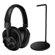 Master & Dynamic MW60 Wireless Over-Ear Headphones with Headphone Stand (Black)