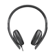 Sennheiser HD 2.30G On-Ear Headphones with 3-Button Remote and Microphone (Black)