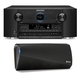 Marantz SR7011 9.2 Channel Full 4K Ultra HD AV Surround Receiver with Bluetooth and Wi-Fi with Denon HEOS 3 Dual-Driver