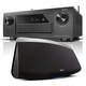 Denon AVR-X6300H 11.2 Channel Full 4K Ultra HD A/V Receiver with Bluetooth and Wi-Fi with HEOS 7 Five-Driver Wireless Sp