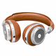 Master & Dynamic MW50 Wireless Bluetooth On Ear Headphones (Brown/Silver)