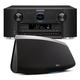 Marantz SR7011 9.2 Channel Full 4K Ultra HD AV Surround Receiver with Bluetooth and Wi-Fi with Denon HEOS 7 Five-Driver