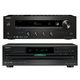 Onkyo TX-8140 Network Stereo Receiver with Built-In Wi-Fi & Bluetooth and DX-C390 6-Disc Carousel CD Player