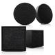 Tivoli Audio ART and CUBE Wireless Hi-Fi Music System - 4-Pack (Black)