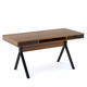 BDI MODICA Desk 6341 (Walnut)