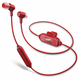 JBL E25BT Wireless In-Ear Headphones with Three-Button Remote and Mic (Red)