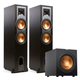 Klipsch R-28F Reference Floorstanding Speakers with R12SW 12