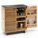 BDI CORRIDOR Compact Bar 5620 (White Oak)