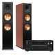 Onkyo TX-RZ710 7.2-Channel Network A/V Receiver with Klipsch RP-280F Reference Premiere Floorstanding Loudspeaker Pair (