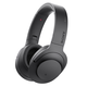 Sony MDR-100ABN/B h.ear on Wireless Noise-Cancelling Headphones with Built-In Microphone (Black)