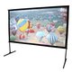 Elite Screens OMS100H2-DUAL Yard Master 2 Dual Series WraithVeil 100 Outdoor Projector Screen