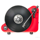Pro-Ject VT-E Right-Handed Vertical-Standing Plug & Play Turntable (Matte Red)