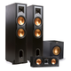 Klipsch 2.1 R-28F Reference Floorstanding Speaker Package with R-25C Center Speaker and R-12SWi 12